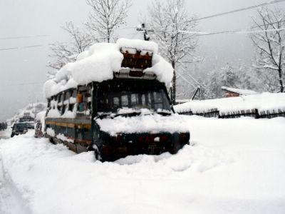 Gulmarg in snow
