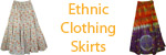 Ethnic Bohemian Clothing and Skirts